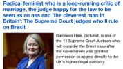 The Daily Mail's latest insult: a Supreme Court Justice who is