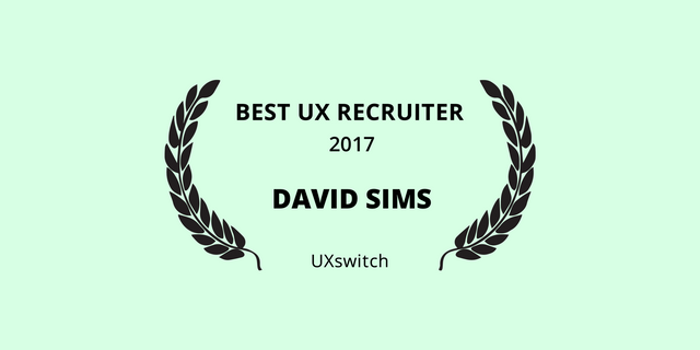 Best UX Recruiter 2017 featured image