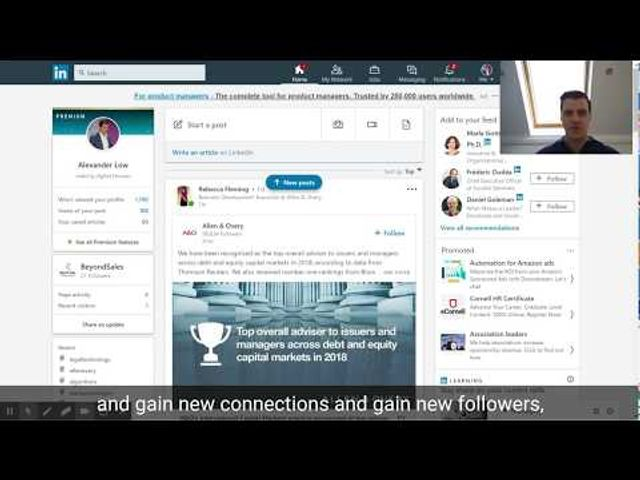 Hashtags on Linkedin - the secret weapon featured image
