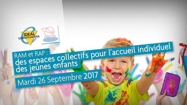 RAM et RAP : Des espaces collectifs pour l'accueil individuel des jeunes enfants featured image