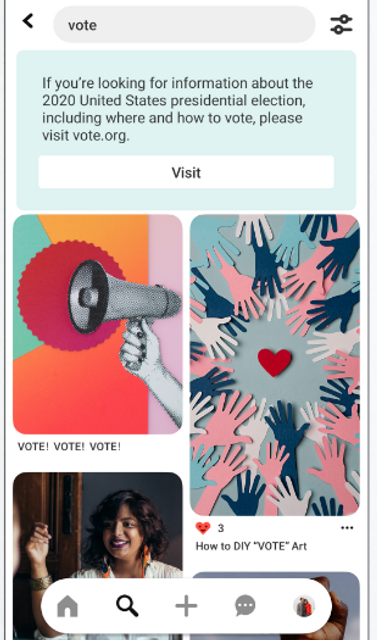 Pinterest Places Further Restrictions on Election-Related Advertising featured image