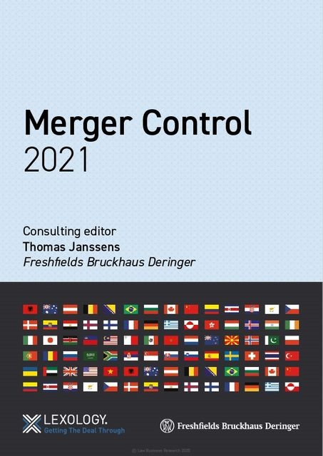 Lexology Getting The Deal Through: Merger Control – 2021 edition now out featured image