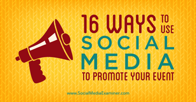 How to use social media to promote your event featured image