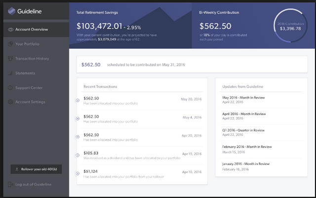 Guideline Raises $7 Million Series A Led By Propel Venture Partners featured image