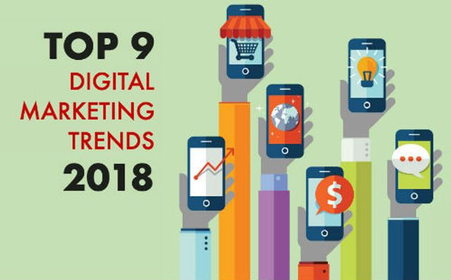 Top 9 Digital Marketing Trends for 2018 featured image
