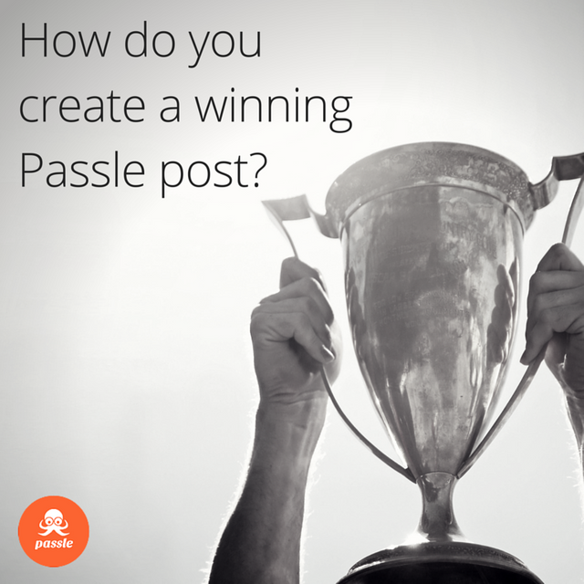How do you create a winning Passle post? featured image