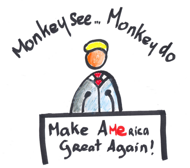 Monkey see monkey do: Leaders through power, Followers by default featured image
