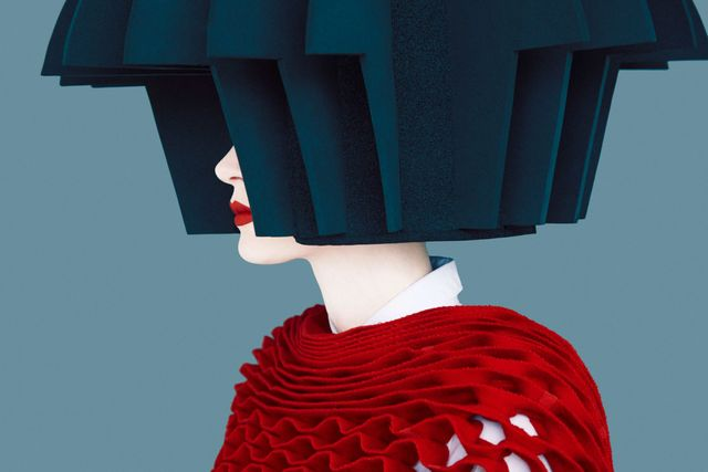 Original fashion collection looking like vector art featured image