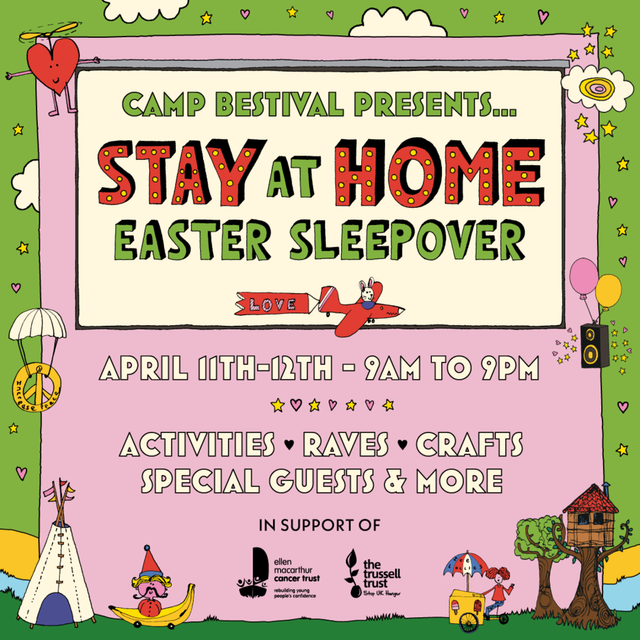Camp Bestival Stay at Home Easter Sleepover featured image