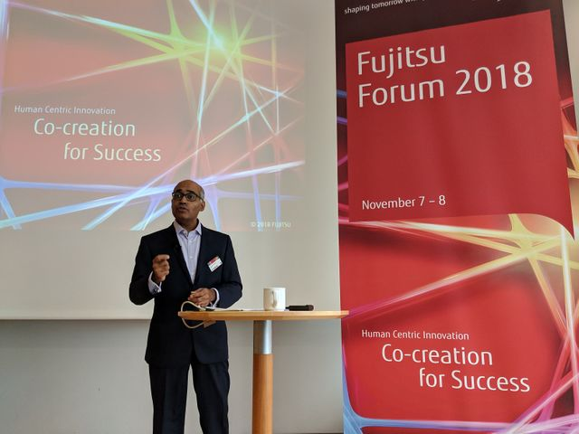 Fujitsu Forum 2018: Ravi Krishnamoorthi and Nerys Mutlow on how manufacturers can improve operational efficiency and customer engagement featured image