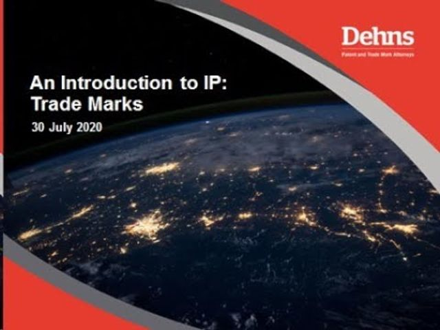 Webinar: An Introduction to IP - Trade Marks featured image