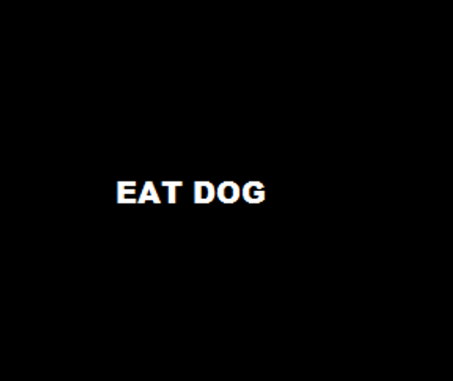 Eat Dog - most unlikely recruitment message? featured image