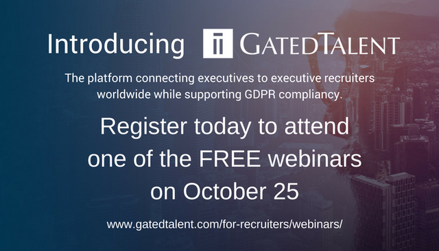 GatedTalent - Introductory Webinars Next Week - Register Today featured image