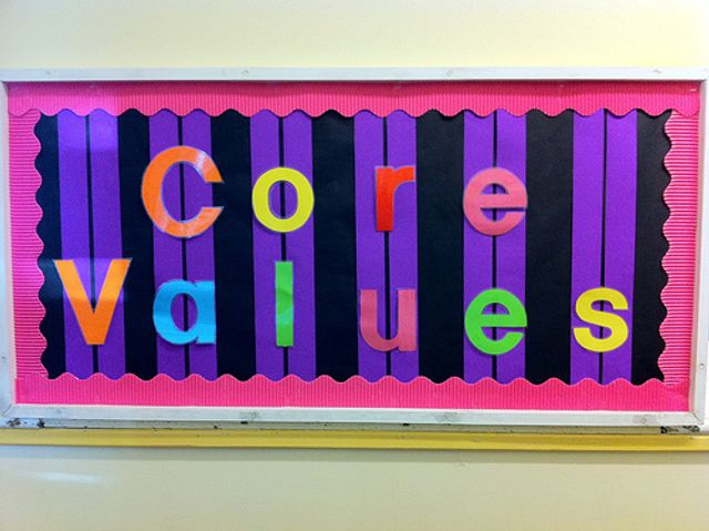 Let's talk Values - it doesn't have to be 'corporate speak'. featured image