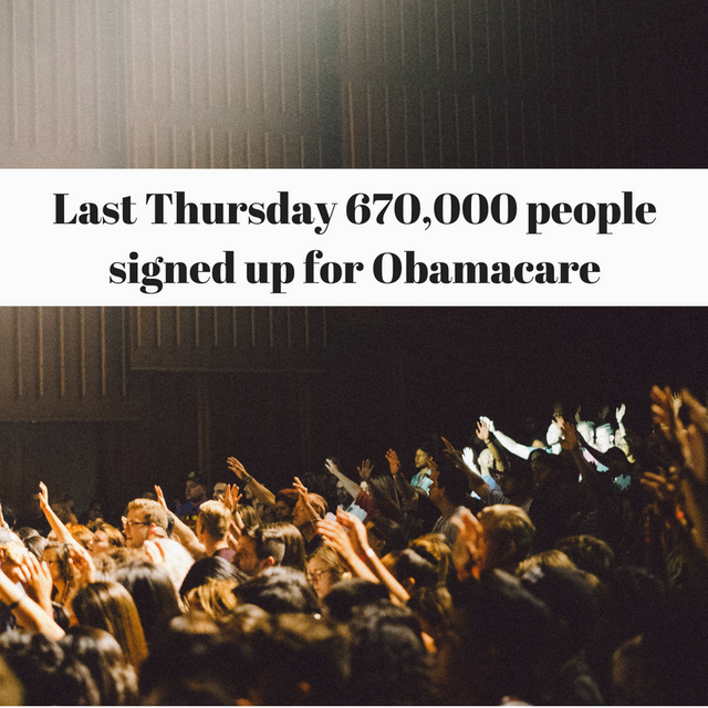 Obamacare Boasts Largest Signup Day Ever featured image