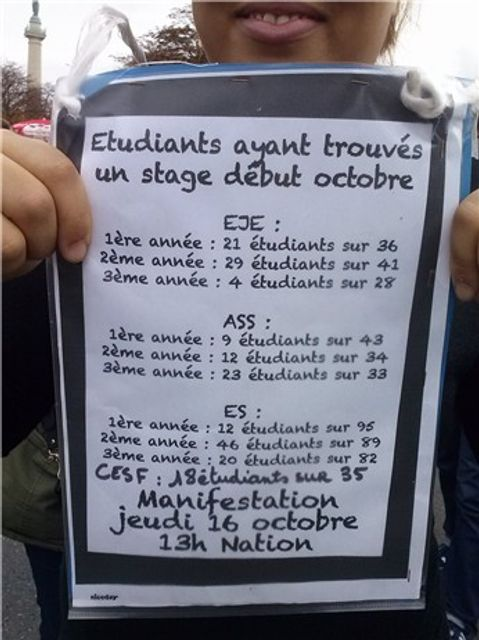 Stages en travail social : une nouvelle rentrée de blocages featured image