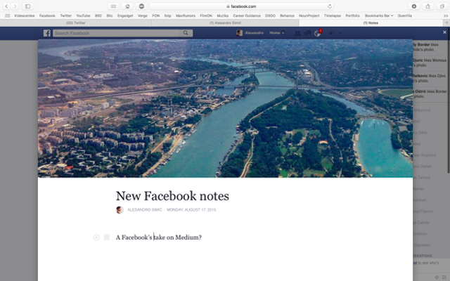 Will Facebook's Notes Overtake Medium? featured image