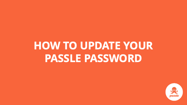 How to change your Passle password  – Passle Knowledge Base featured image