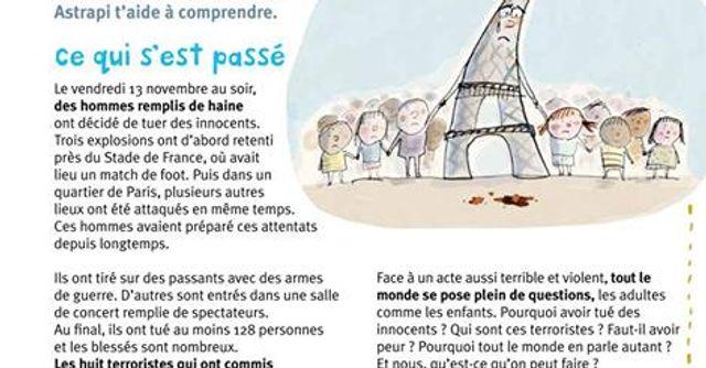 Les attentats de Paris pour les enfants (Spécial enseignants et parents) featured image