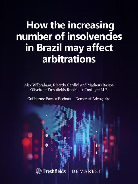 How the increasing number of insolvencies in Brazil may affect arbitrations featured image