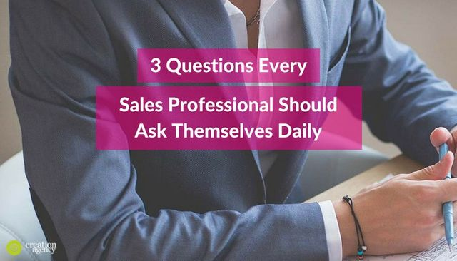 3 Questions that will accelerate your sales productivity featured image