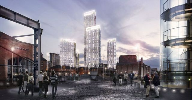The six huge towers that will change Manchester's skyline forever featured image