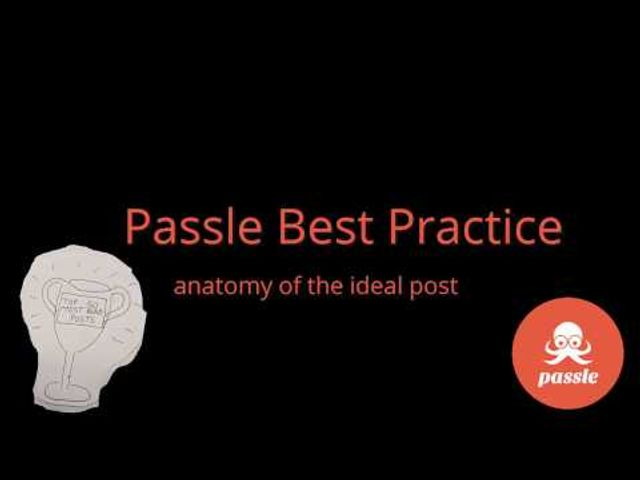 Passle Best Practice: Anatomy of the Ideal Post featured image