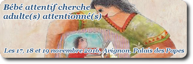 Bébé attentif cherche adulte(s) attentionné(s) : du 17 au 19 novembre à Avignon featured image