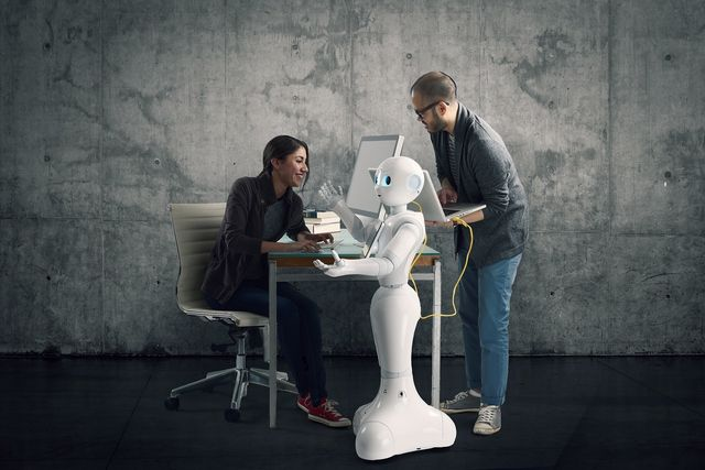 Robots aren't humans so our jobs are safe, for now featured image