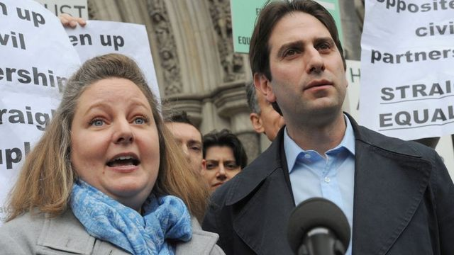 Heterosexual couple take civil partnership case to Supreme Court featured image