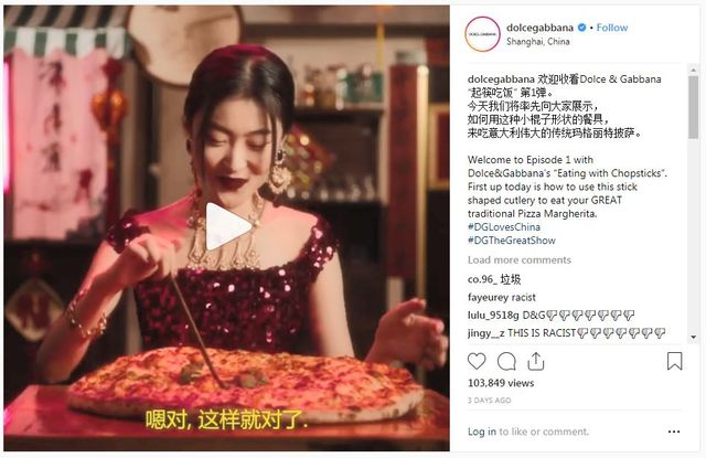 "Dolce & Gabbana, Under Fire for ""Eating With Chopsticks"" Videos, Apologizes (Updated) featured image"