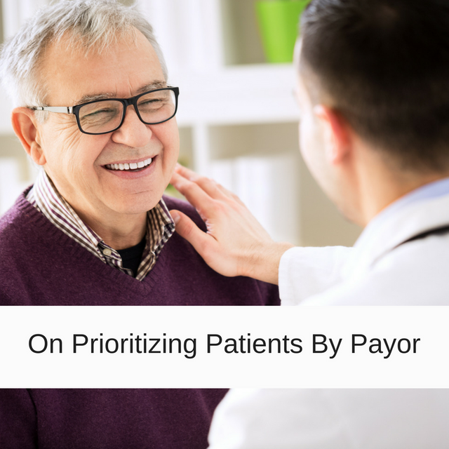 On Prioritizing Patients With Private Insurance featured image
