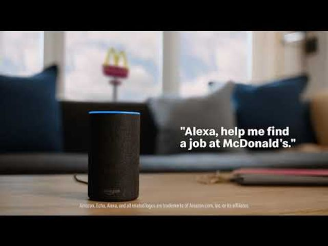 McDonald's recruit Alexa to help attract talent featured image