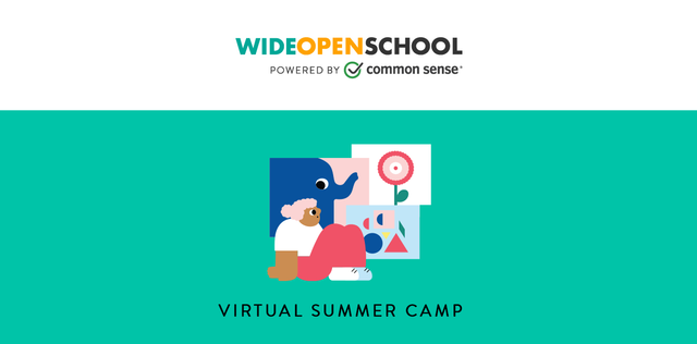 Wide Open School Summer Camp - weekly schedules of activities featured image