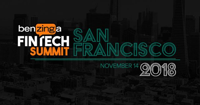 Benzinga's upcoming Fintech Summit in November in San Francisco featured image