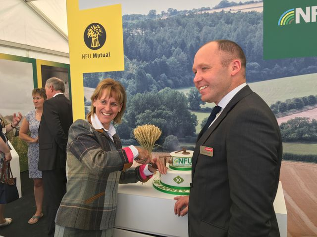 Foot Anstey celebrates landmark 30 years of the NFU's Legal Assistance Scheme at the Devon County Show featured image