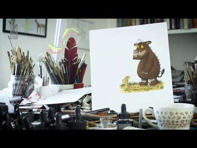 How to draw the Gruffalo and other projects from The British Library featured image