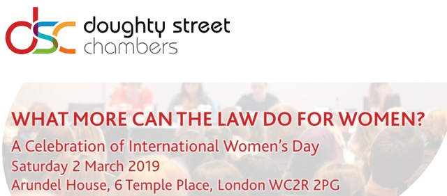 """What More Can The Law Do For Women?"" - A Celebration of International Women's Day 2019 featured image"