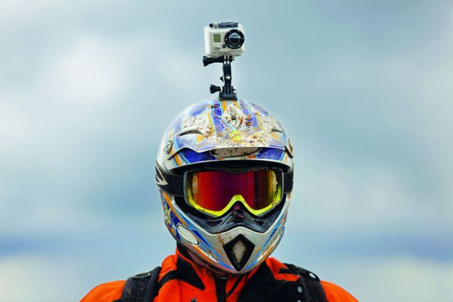 Motorcyclists who wear helmet-mounted cameras could be at higher risk of crashing and serious injury featured image