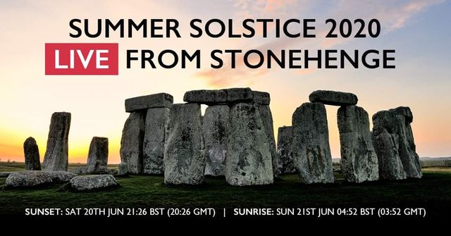Watch the summer solstice live from Stonehenge this weekend (20/21 June) - from wherever you are in the world! featured image