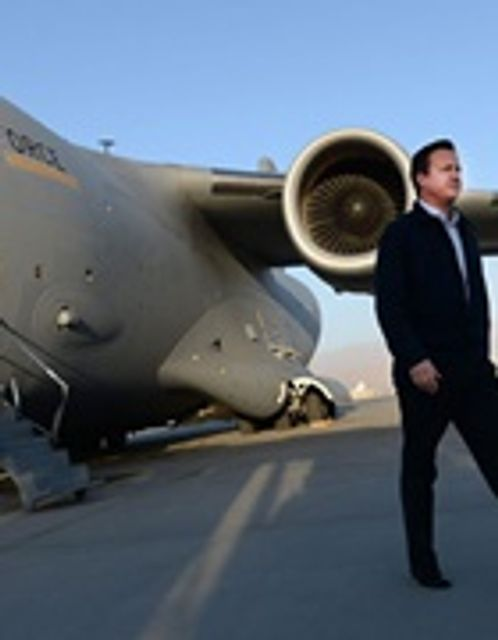 Cameron vows to end 'industry' of claims against armed forces featured image