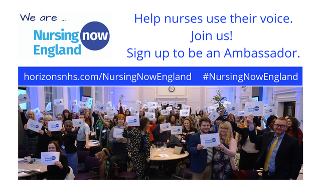 Nurses Unite for the Launch of Nursing Now England featured image