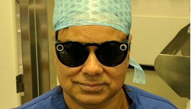 Snapchat spectacles worn by UK surgeon while operating featured image