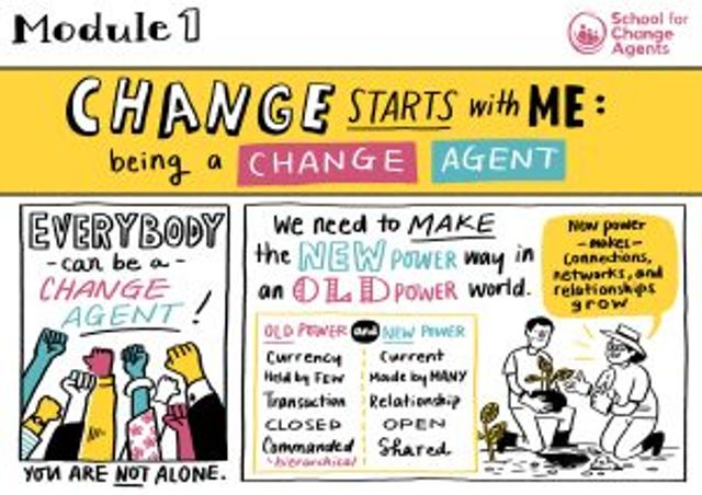 Change begins with me: module one of The School for Change Agents featured image