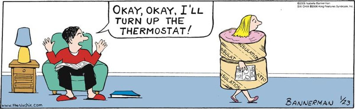 Thermal comfort or Why do we always argue about the