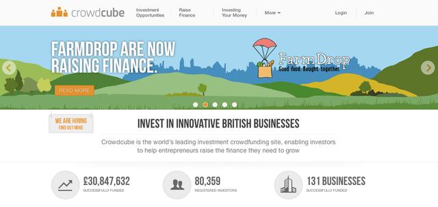 The UK's Crowdcube raises $6.5M Series B featured image