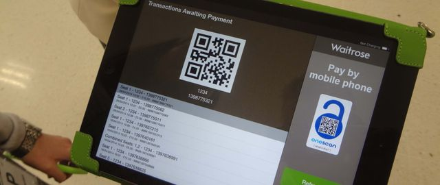Waitrose in the UK showcases mobile QR payments featured image
