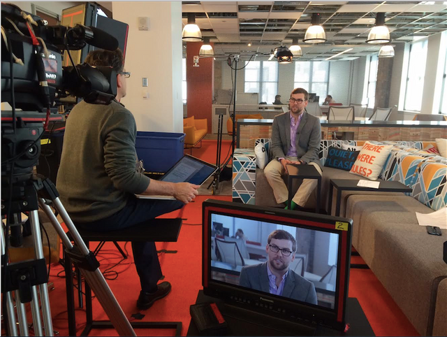 Mike - Slide's CEO gets Interviewed by MasterCard and shows off his new beard featured image