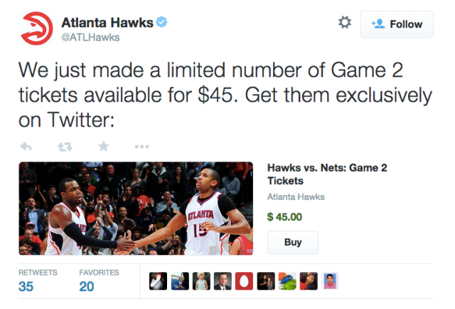 Twitter Begins Selling Sports Tickets featured image