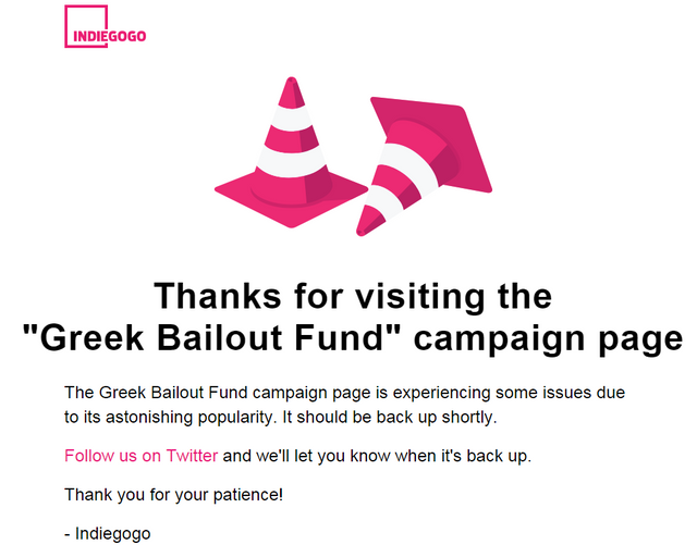Paying off Greece's debt - via crowd-funding featured image